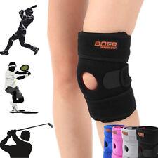 Patella Elastic Knee Brace Fastener Support Guard Gym Sports Knee Cap Stabilizer