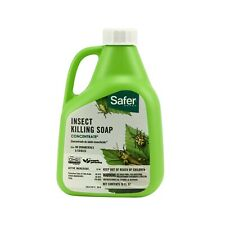 Safer Brand 5118 Insect Killing Soap 16 Ounce Concentrate Targets kills aphids