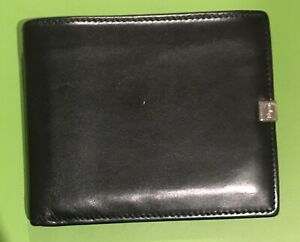 Salvatore Ferragamo Mens Bifold Black Wallet