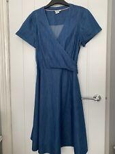 Boden Denim Dress Size 14