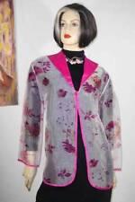 Chiffon Solid Regular Coats & Jackets for Women