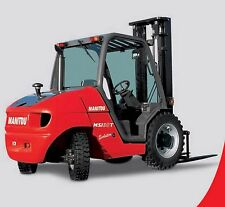 MANITOU Msi 20 - 30 & MH 20 - 25 Carrello Elevatore Workshop & Parti manuali