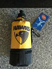 BNWT Genuine AFL Hawthorn Merchandise Hawks Insulated Large Drink Bottle Flask