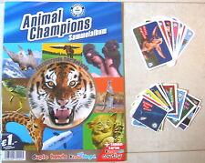 Ferrero Immagini Da Collezione Animal Champions 42 Pezzi+9 Figurine+