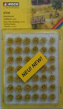 NOCH 07036 Blooming Yellow Grass Tufts (42) 6mm 00/H0 Model Railway