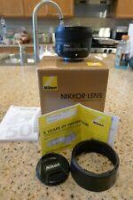 Nikon Nikkor AF-S 50 mm F/1.8G Lens - Black (2199)