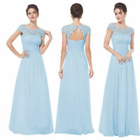 Ever-Pretty Long Formal Cocktail Party Gown Prom Maxi Bridesmaid Dress 09993