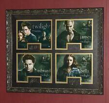 Custom Framed TWILIGHT Cast SIGNED Autographed Plaque Photo STEWART Pattinson +