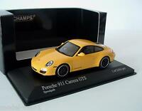 Minichamps 1/43 Porsche 911 Carrera GTS 997 Gen2 2011 Speedgelb Yellow 060120