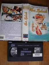 Hot Splash de James Ingrassia, VHS GCR, Comédie, RARE!!!!