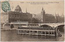 PARIS - TRAVAUX DU MÉTROPOLITAIN - Opérations de Fonçage d'un Caisson