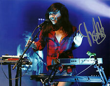 Lights Electropop Singer Valerie Poxleitner Hand Signed 8x10 Photo Music Picture