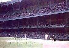 1958 MICKEY MANTLE NEW YORK YANKEES IN YANKEE STADIUM LASER PHOTO PRINT