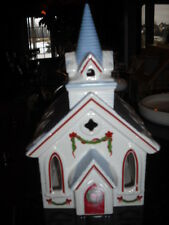 Lenox Holiday Village Collection Church Olde ChurchTealight Candle Holder Burner