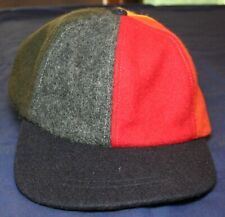 Vtg SCHUMAN SULLIVAN Wool Baseball Cap Hat USA Union Label MEDIUM Retro Pre 1983