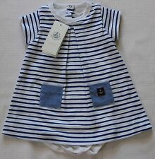 Baby kleid blau wei