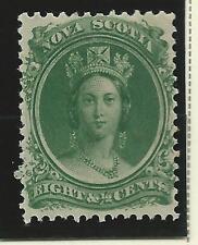 Mint Hinged Nova Scotia North American Stamps