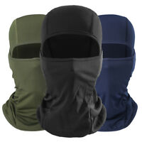 Cool Soft Outdoor Motorcycle Full Face Mask Lycra Balaclava Ski Neck Protection