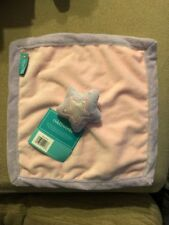 Tiddliwinks Princess Star Pink And Lavender Security Blanket BNWT
