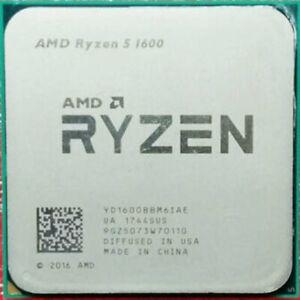 AMD Ryzen 5 1600 R5-1600 6-Core 3.2-3.6 GHz Socket AM4 65W Desktop CPU Processor