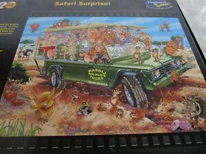 Wasgij  Original Puzzle Number 31, 1000 Pieces, Excellent Cond. Safari Surprise