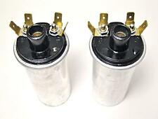 12 volt coils Triumph Norton BSA ignition coil set 12v 40mm OD Lucas copy 45276