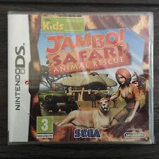 Nintendo DS Game - Jambo Safari Animal Rescue - Brand New - Factory Sealed !!