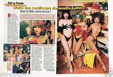 Coupure de Presse Clipping 1998 (2 pages) Les Coulisses du Paradis latin