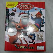 My Busy Books Rudolph The Red-Nosed Reindeer 12 Figurines Christmas Calendar
