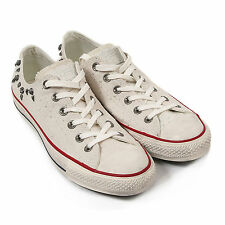 NEW GIRLS WOMENS OFF WHITE STARS AND BARS ALL STAR CONVERSE SZE 7 TRAINERS SHOES