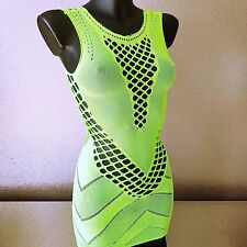 Women Sexy/Sissy Sheer Mini Dress Fishnet Lace Bodycon Mesh Babydoll Nightwear