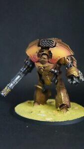 warhammer 30000.Legio Custodes Telemon Heavy Dreadnought. Paint