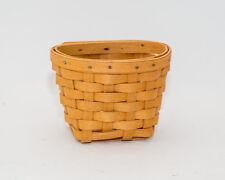 Longaberger 1999 Oregano Booking Basket
