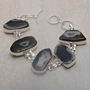 Solar Agate Ethnic Handmade Bracelet Jewelry 34 Gms AB 88730