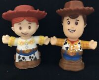 Fisher Price Little People JESSIE & WOODY TOY STORY 4 Figures 2019