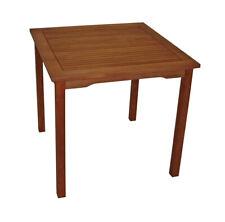 Gartentisch Holztisch Gartenmöbel  LAGO 80x80cm Eukalyptus geölt, 2. WAHL