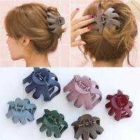 6Colors Women Hairpin Large Size Scrub Hair Clip Bathing Disk Hair Claw