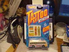 Hot Wheels Tattoo Machines Bus Boys