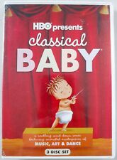 Classical Baby - 3 Disc Dvd - Hbo Presents - Music, Art & Dance