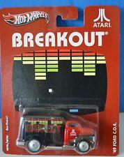 "New Hot Wheels Breakout Atari Metal 49 Ford C.O.E. 2012 Real Riders 3"" Collect"