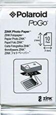 10 Sheets Polaroid Pogo 2x3 Zink Media Photo Paper for HP Sprocket/Polaroid/LG*