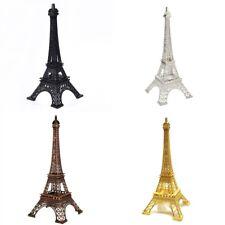 Eiffel Tower Statue Sculpture Paris Decor Metal Wedding Supplies Ornament