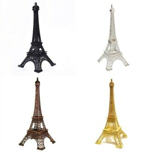 Eiffel Tower Statue Sculpture Paris Decor Metal Wedding Supplies Ornament