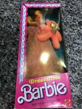 NRFB Vintage 1984 DREAMTIME BARBIE #9180 with BB-the PINK Bear. NRFB
