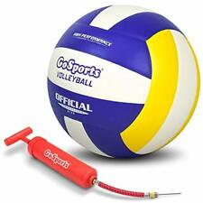 """Indoor Competition Volleyball - Made From Synthetic Leather Includes Ball Pump """""""