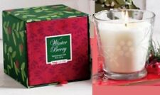 Tag Jardin Etched Scented Holiday Candle, Winter Berry