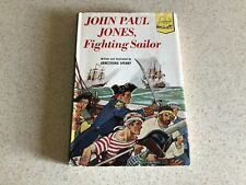 1953 Vintage Landmark Book John Paul Jones Fighting Sailor First Edition w/ DJ