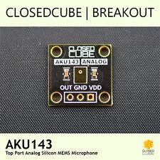 ClosedCube AKU143 Top Port Analog Silicon MEMS Microphone Breakout