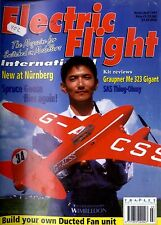ELECTRIC FLIGHT MAGAZINE 1997 APR GRAUPNER ME 323 GIGANT, SAS THING-OHMY