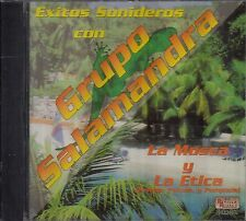 Grupo Salamandra Cumbias Sonideras CD New Sealed